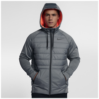 Nike Winterized Thermasphere F/Z Jacket - Men's - Grey / Orange
