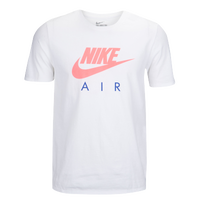 Nike Graphic T-Shirt - Men's - White / Pink