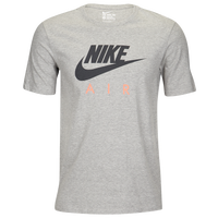 Nike Graphic T-Shirt - Men's - Grey / Pink