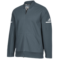 adidas Team Squad Bomber - Men's - Grey / White