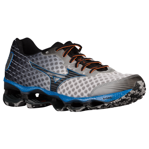 Mizuno Wave Prophecy 4 - Men's - Running - Shoes - White/Black/Directoire  Blue