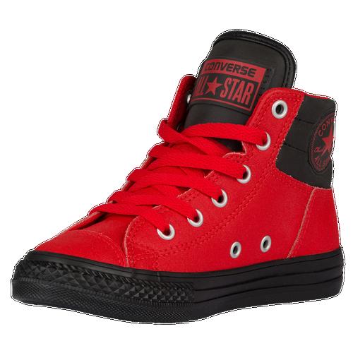 Fashion Converse All Star Fresh Boys Grade School Casual Shoes CasinoBlackBlack