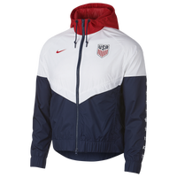 Nike USA Windrunner Jacket - Women's - USA - Navy / White