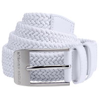 Under Armour Braided 2.0 Golf Belt - Men's - All White / White