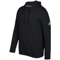 adidas Team Fleece Hoodie - Men's - Black / White