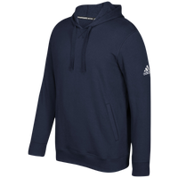 adidas Team Fleece Hoodie - Men's - Navy / White