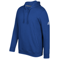 adidas Team Fleece Hoodie - Men's - Blue / White
