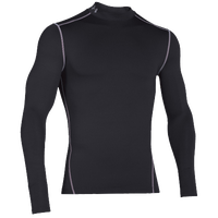 Under Armour ColdGear Armour Compression Mock - Men's - Black / Grey