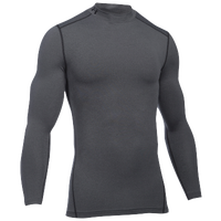 Under Armour ColdGear Armour Compression Mock - Men's - Grey / Black