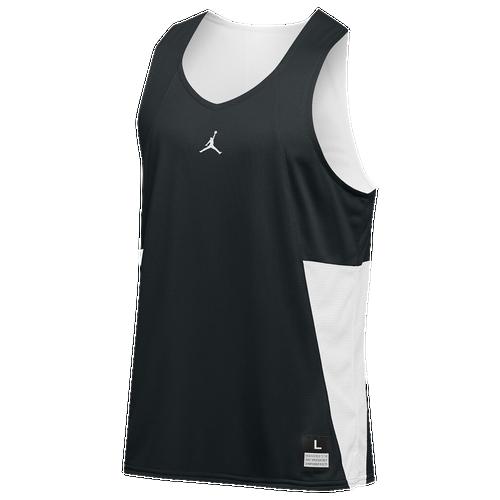 Jordan Team Flight Reversible Tank - Men's Basketball - Dark Green/White 65848341