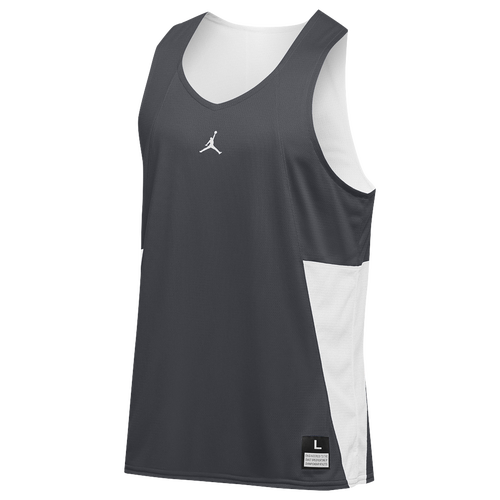 072dbb8412e2b2 ... sale jordan team flight reversible tank mens basketball clothing  anthracite white 6e320 bf965