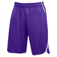 Jordan Team Flight Shorts - Men's - Purple / White