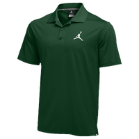 Jordan Team Polo - Men's - Dark Green / Dark Green