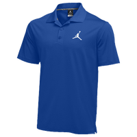Jordan Team Polo - Men's - Blue / Blue