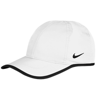 Nike Team Featherlight Cap - Men's - White / Black