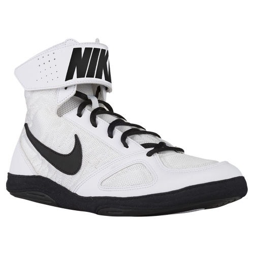 Nike Takedown 4 - Men's Wrestling Shoes - White/Black/White 66640100