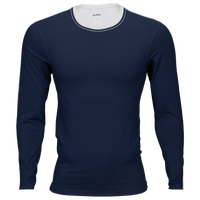 Eastbay EVAPOR Premium L/S Compression T-Shirt - Men's - Navy