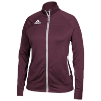 adidas Team Utility Jacket - Women's - Maroon / White