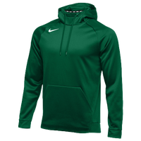 Nike Team Therma Hoodie - Men's - Dark Green / Dark Green