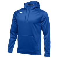 Nike Team Therma Hoodie - Men's - Blue / Blue