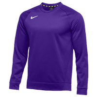 Nike Team Therma Crew - Men's - Purple / Purple