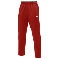 Nike Team Therma Pants - Men's - Red / Red