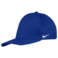 Nike Team Dri-Fit Swoosh Flex Cap - Men's - Blue / Blue