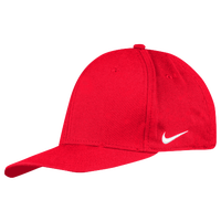 Nike Team Dri-Fit Swoosh Flex Cap - Men's - Red / Red