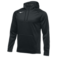 Nike Team Therma Hoodie - Men's - All Black / Black