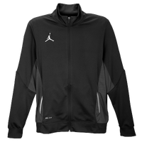 Jordan Team Flight Jacket - Men's - Black / White