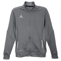 Jordan Team Flight Jacket - Men's - Grey / Grey