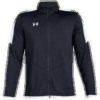 7fe4b13bf Under Armour Team Team Rival Knit Warm-Up Jacket - Men's - Black