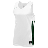Nike Team Hyperelite Jersey - Men's - White / Dark Green
