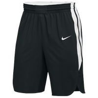 Nike Team Hyperelite Shorts - Men's - Black / White