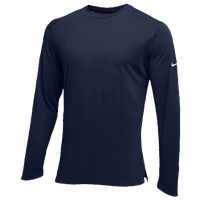 Nike Team Hyperelite L/S Shooter Top - Men's - Navy / Navy