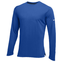 Nike Team Hyperelite L/S Shooter Top - Men's - Blue / Blue