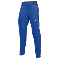 Nike Team Hyperelite Fleece Pants - Men's - Blue / Grey