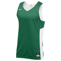 Nike Team Reversible Tank - Men's - Dark Green / White