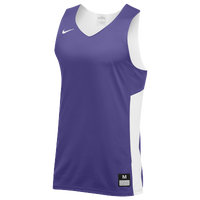 Nike Team Reversible Tank - Men's - Purple / White