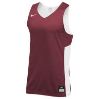 Nike Team Reversible Tank - Men's - Cardinal / White