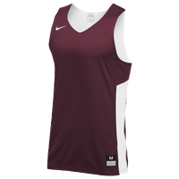 Nike Team Reversible Tank - Men's - Maroon / White