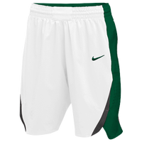 Nike Team Hyperelite Shorts - Women's - White / Dark Green