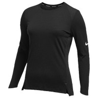 Nike Team Hyperelite L/S Shooter Top - Women's - All Black / Black