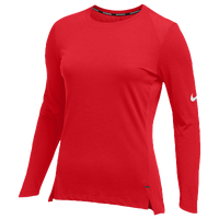 Nike Team Hyperelite L/S Shooter Top - Women's - Red / Red