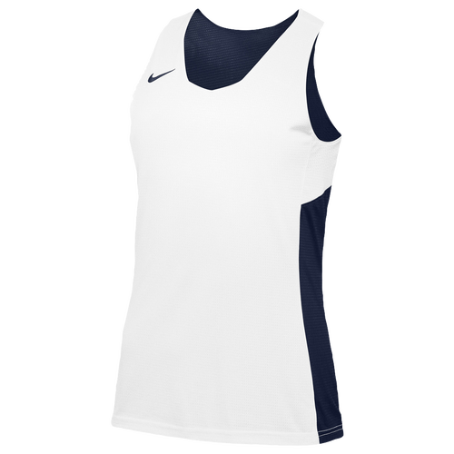 Nike Team Reversible Tank - Women's Basketball - Navy/White 68021420