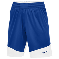 Nike Team Practice Shorts - Women's - Blue / White