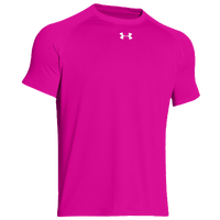 Under Armour Team Locker Shortsleeve T-Shirt - Men's - Pink / Pink