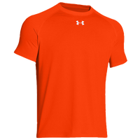 Under Armour Team Locker Shortsleeve T-Shirt - Men's - Orange / Orange