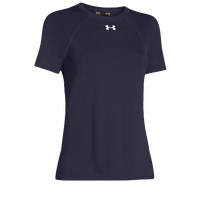 Under Armour Team Locker Short Sleeve T-Shirt - Women's - Navy / Navy