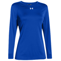 Under Armour Team Locker Long Sleeve T-Shirt - Women's - Blue / Blue